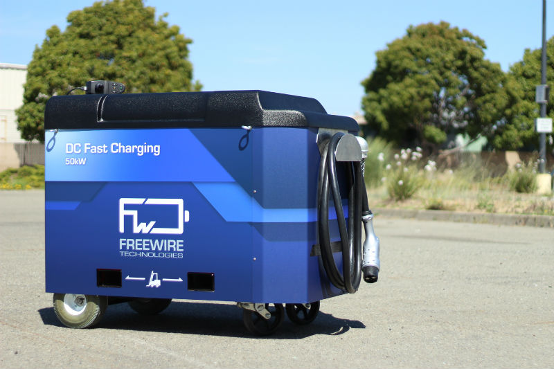 FreeWire BP elektrikli araç otomobil şarj