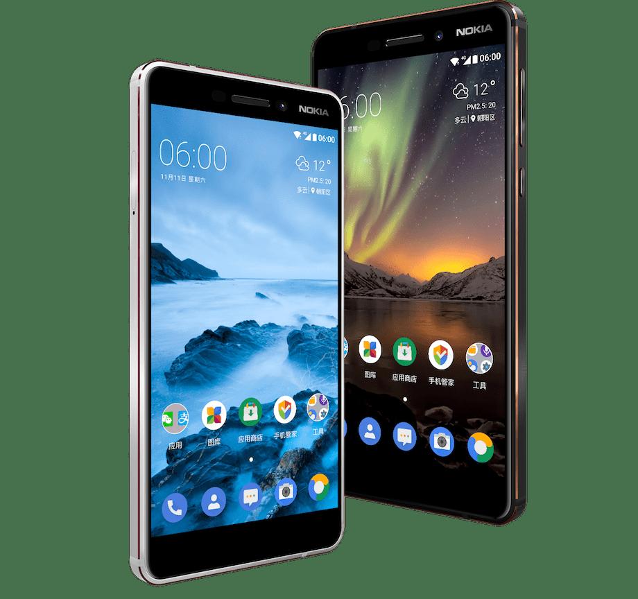 Nokia 6 (2018) tasarımı