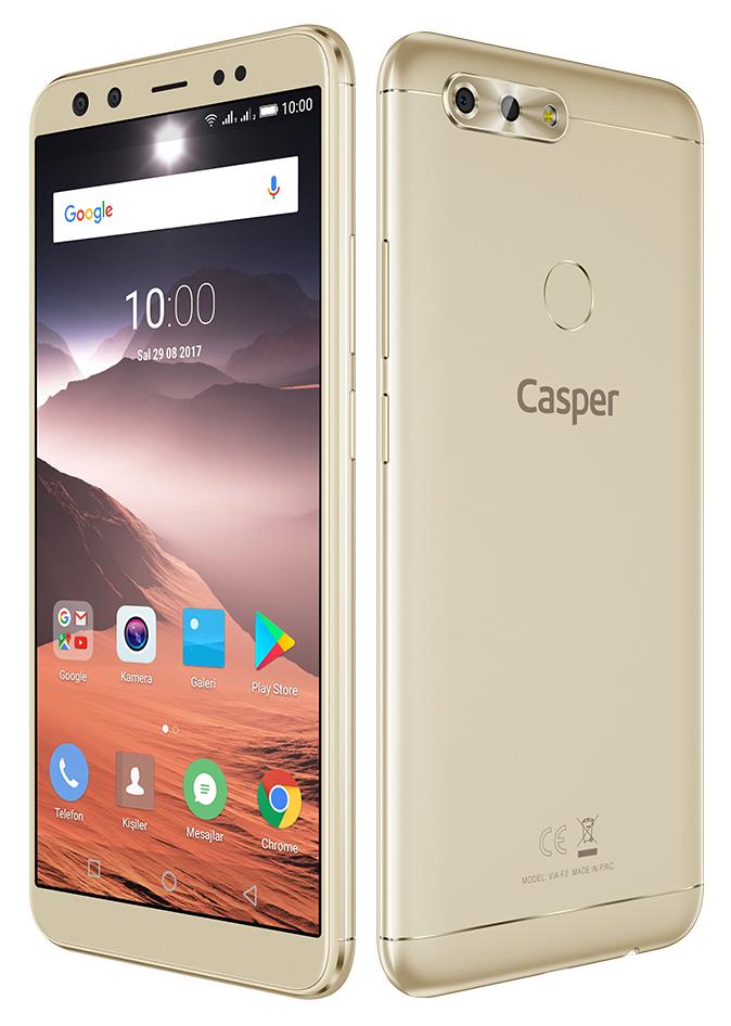 Casper VIA F2 kutu açılışı