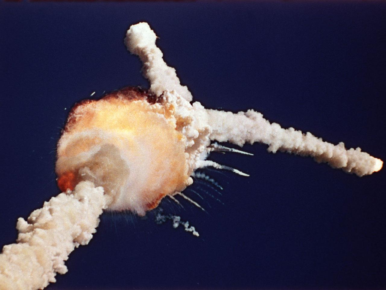 challenger uzay mekiği patlaması
