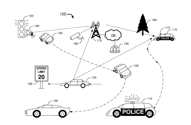 ford sürücüsüz polis aracı projesi