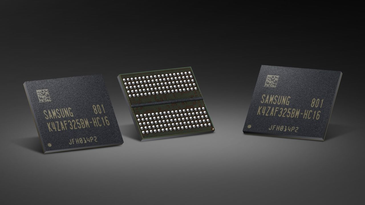 Samsung 16 Gb GDDR6 bellek