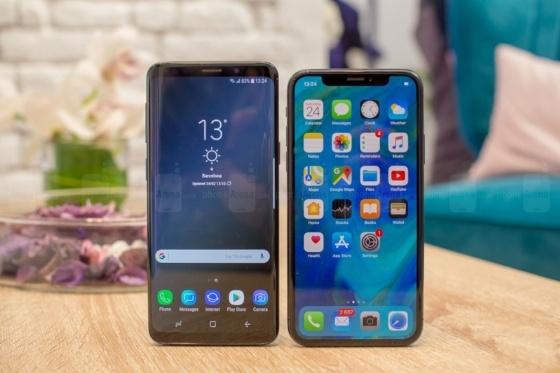 Galaxy S9 ve iPhone X