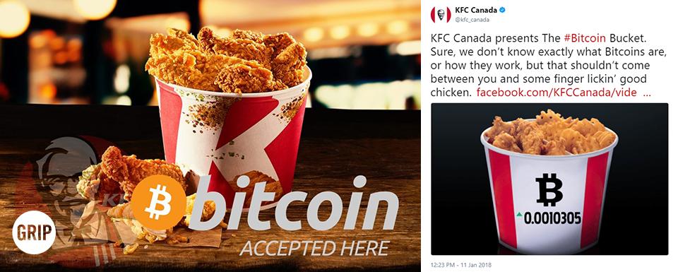 KFC Bitcoin sanal para