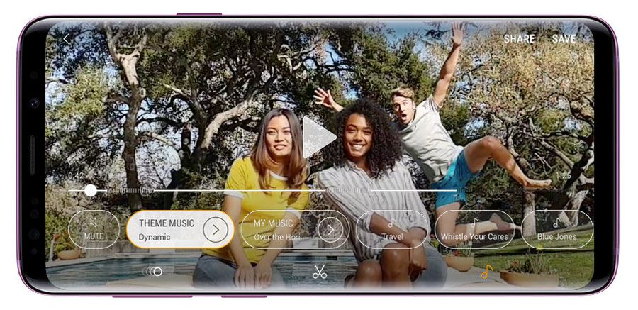 Galaxy S9 4K HDR
