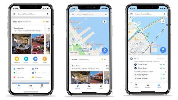 iOS için Google Haritalar