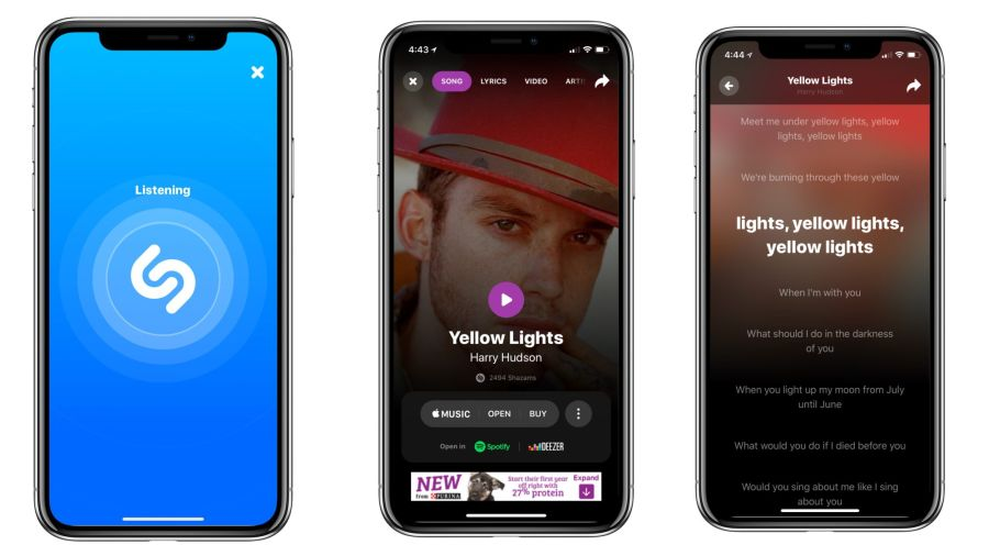 iOS için Shazam