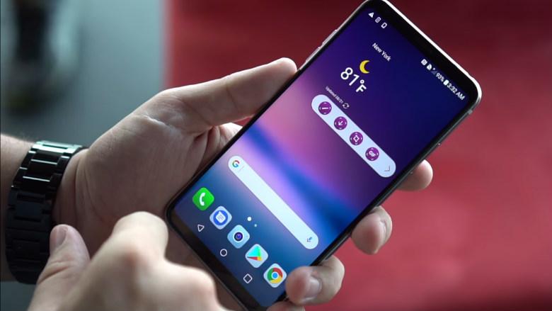 lg v30s / lg mobil
