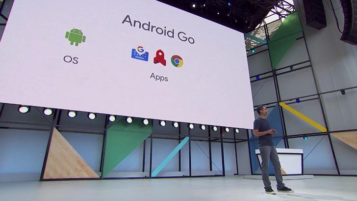 İlk Android Go serisi