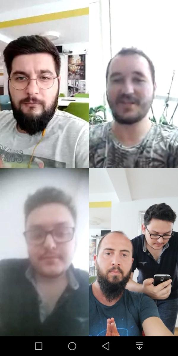WhatsApp görüntülü grup