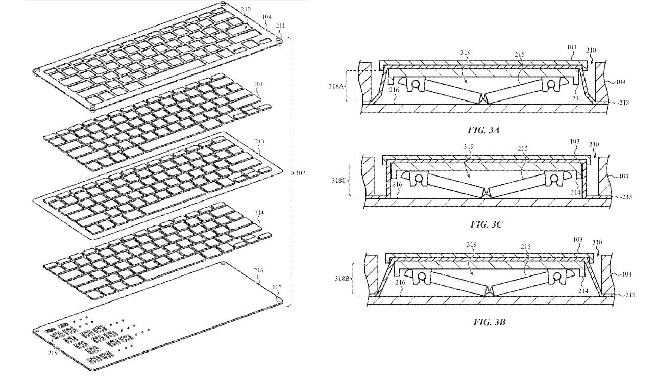 klavye tasarımı patenti