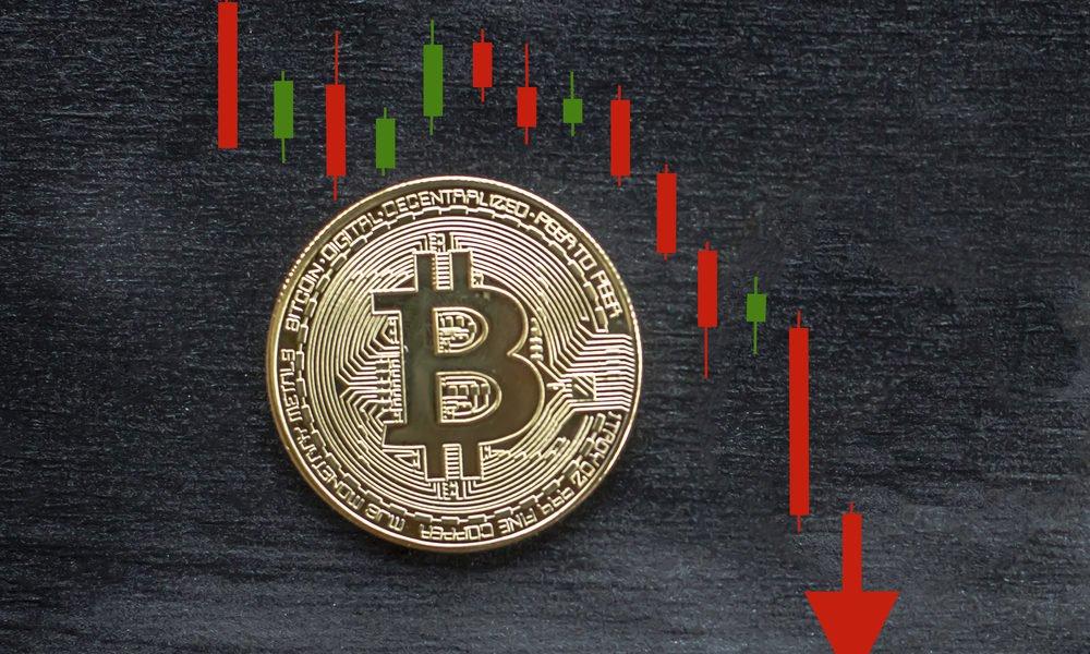 Bitcoin'de sert düşüş yaşanıyor