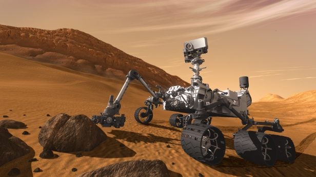 Nasa'nın aracı Curiosity Mars'taki 2 bininci gününü tamamladı