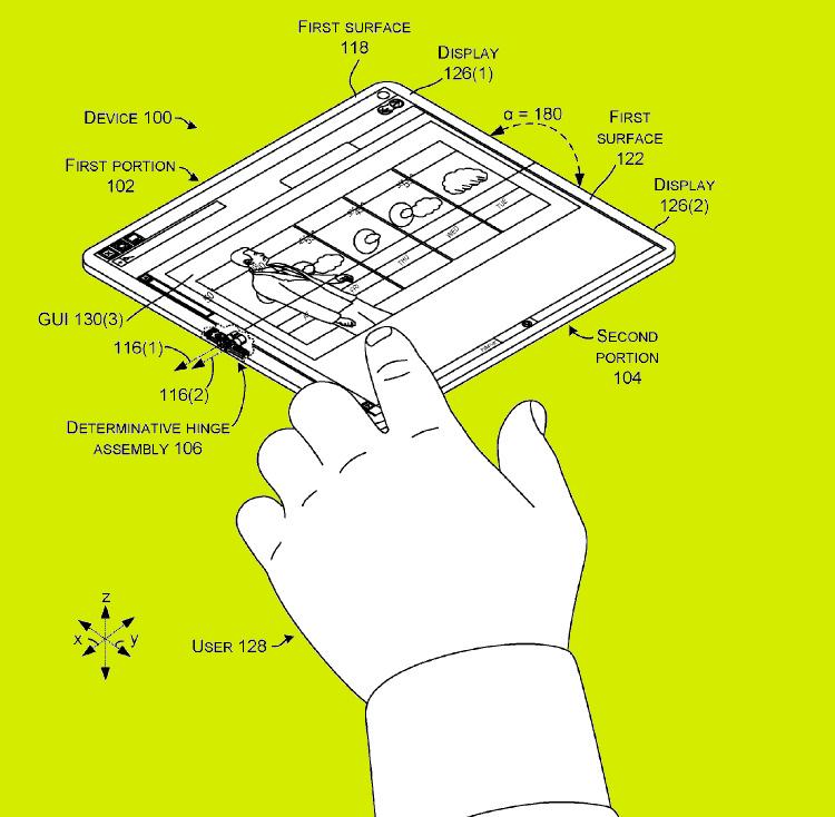 katlanabilir mobil bilgisayar
