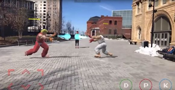 Apple ARKit, Street Fighter II