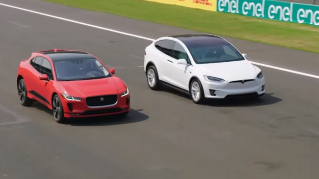 Jaguar I-Pace Tesla Model X