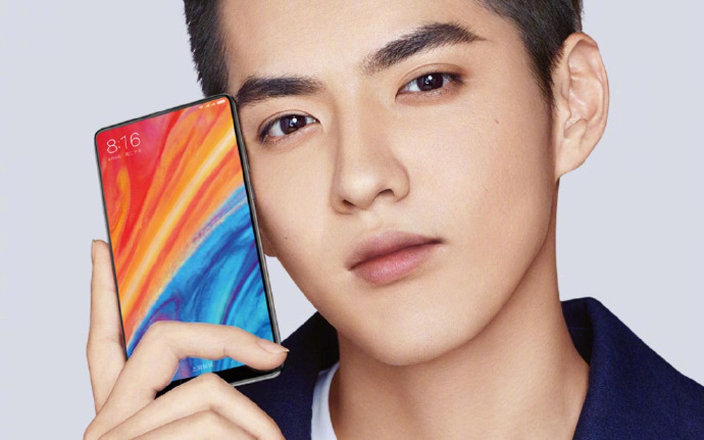 Xiaomi Mi Mix 2s tasarımı