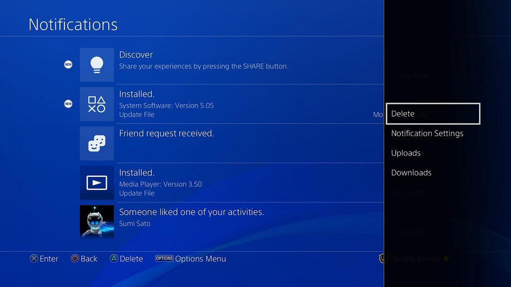 PS4 Sistem Yazılımı Güncellemesi 5.50