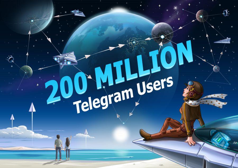 Telegram kullanıcı sayısı