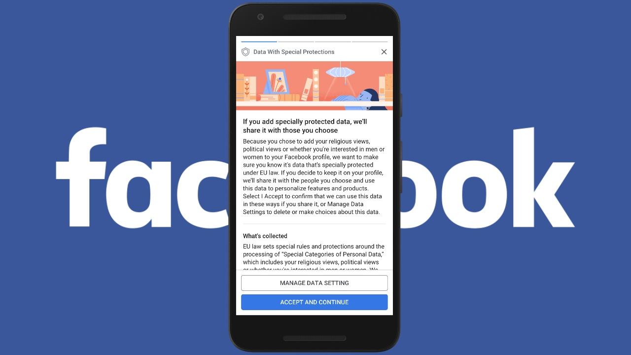 Facebook gizlilik politikası