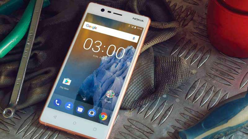 Nokia 3 için Android Oreo