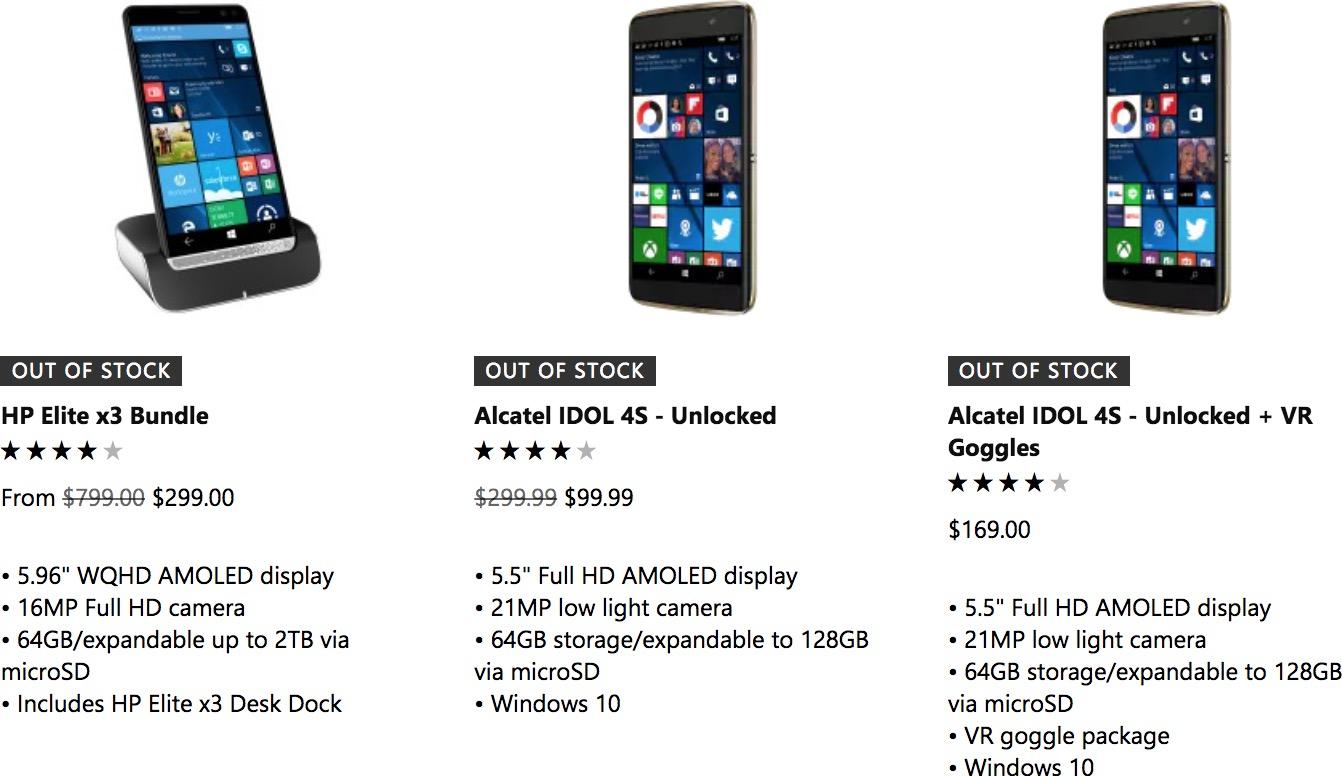 Windows Phone satışları