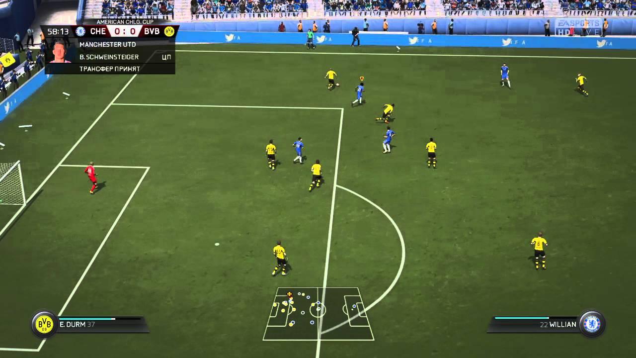 sesli komutlar ile FIFA