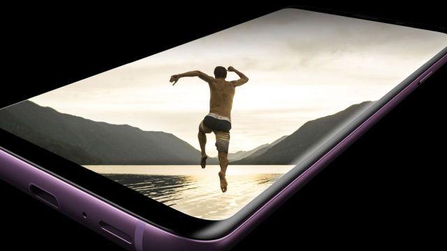 Galaxy S9 ekran sorunu