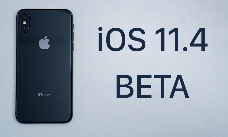 iOS 11.4 Beta 2