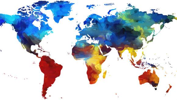 iklim değişikliği haritası