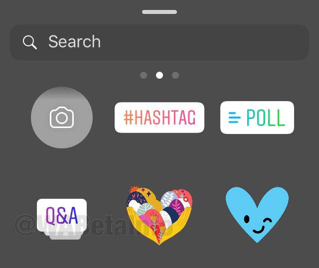 Instagram hikayeler güncellemesi