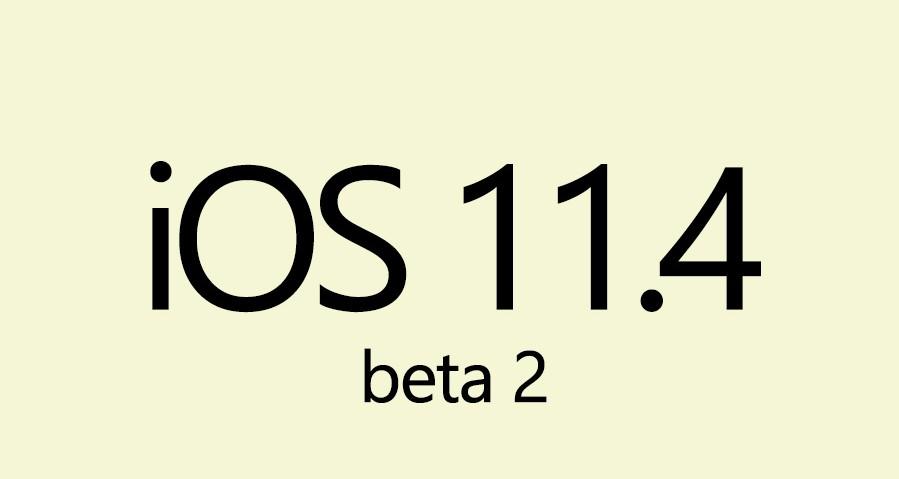 ios 11.4 public beta 2 sdn