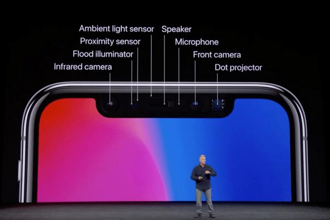 iPhone X - 3D yüz tanıma
