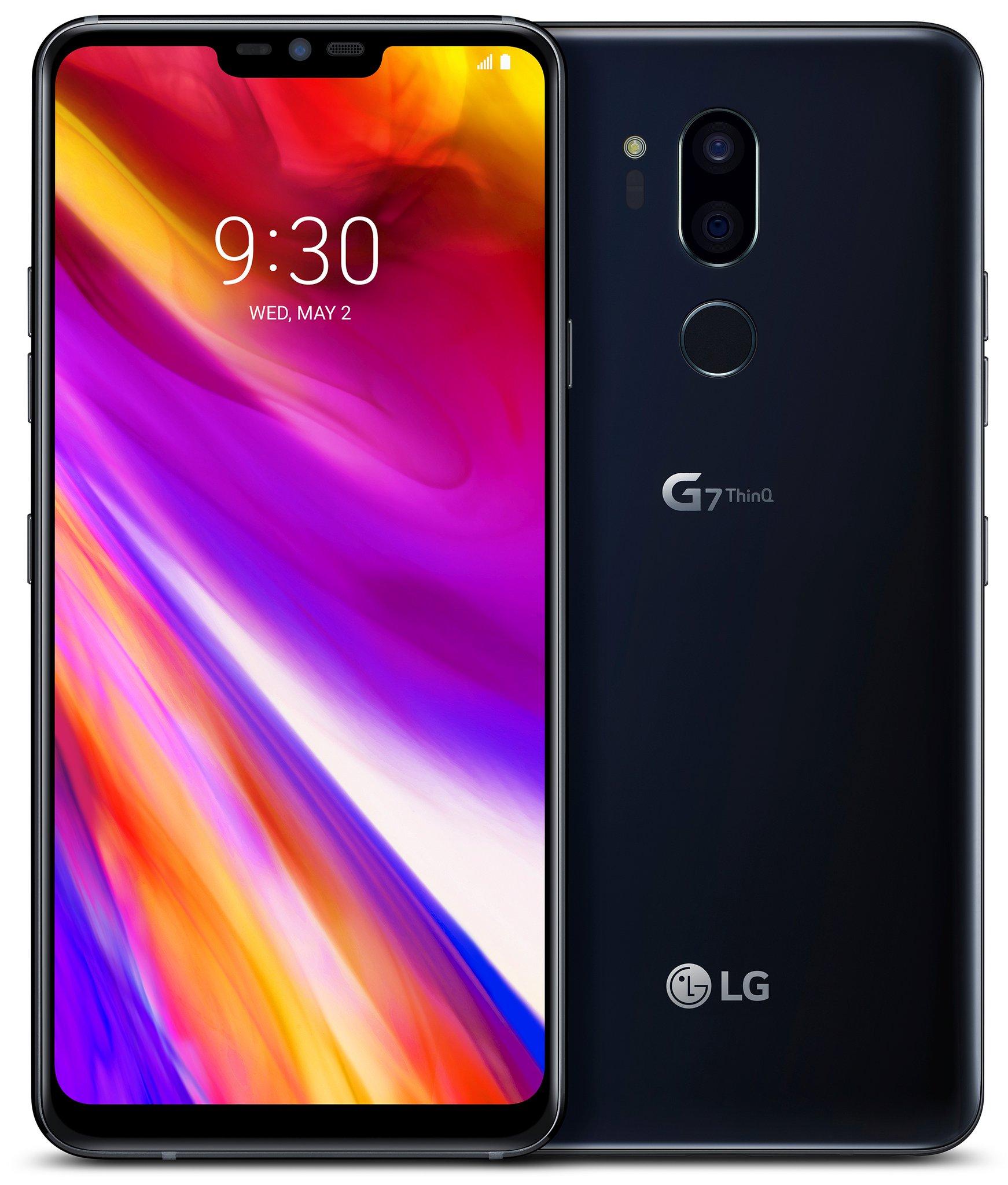 LG G7 ThinQ siyah