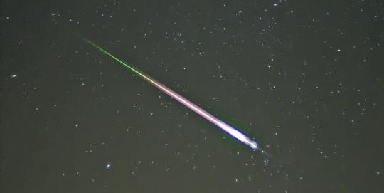 Lyrid meteor yağmuru