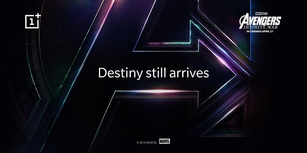 Avengers temalı OnePlus 6