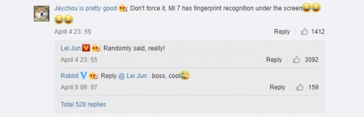 Xiaomi Mi 7 için dikkat çekici gelişme!