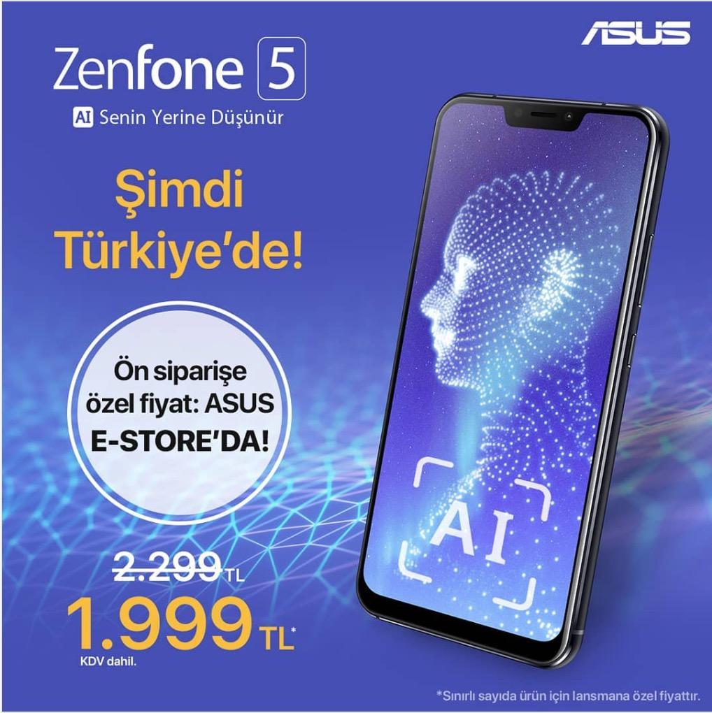 zenfone 5 fiyatı