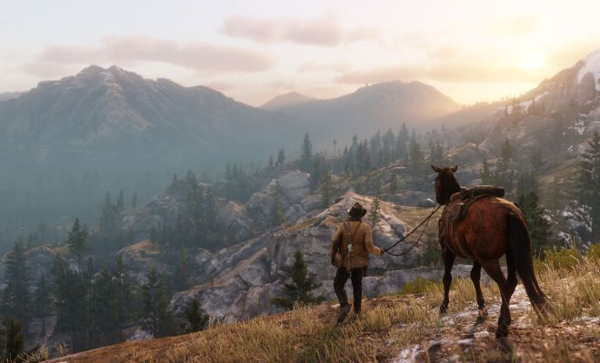 Red Dead Redemption 2 görselleri