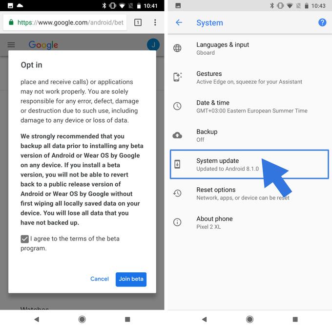 Android P beta nasıl yüklenir