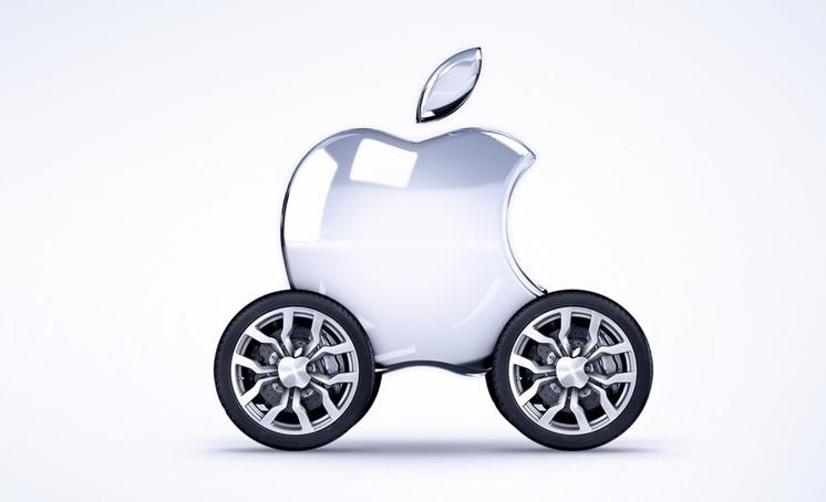 apple otonom araç