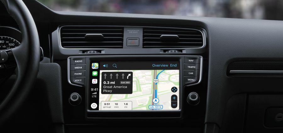 CarPlay destekli otomobil
