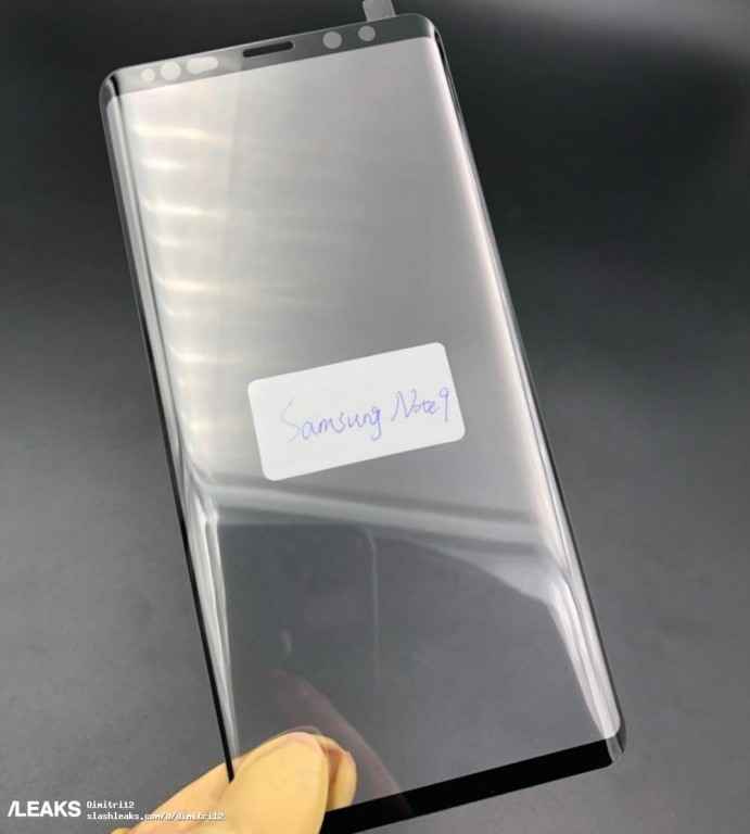 Galaxy Note 9 ekran koruyucusu