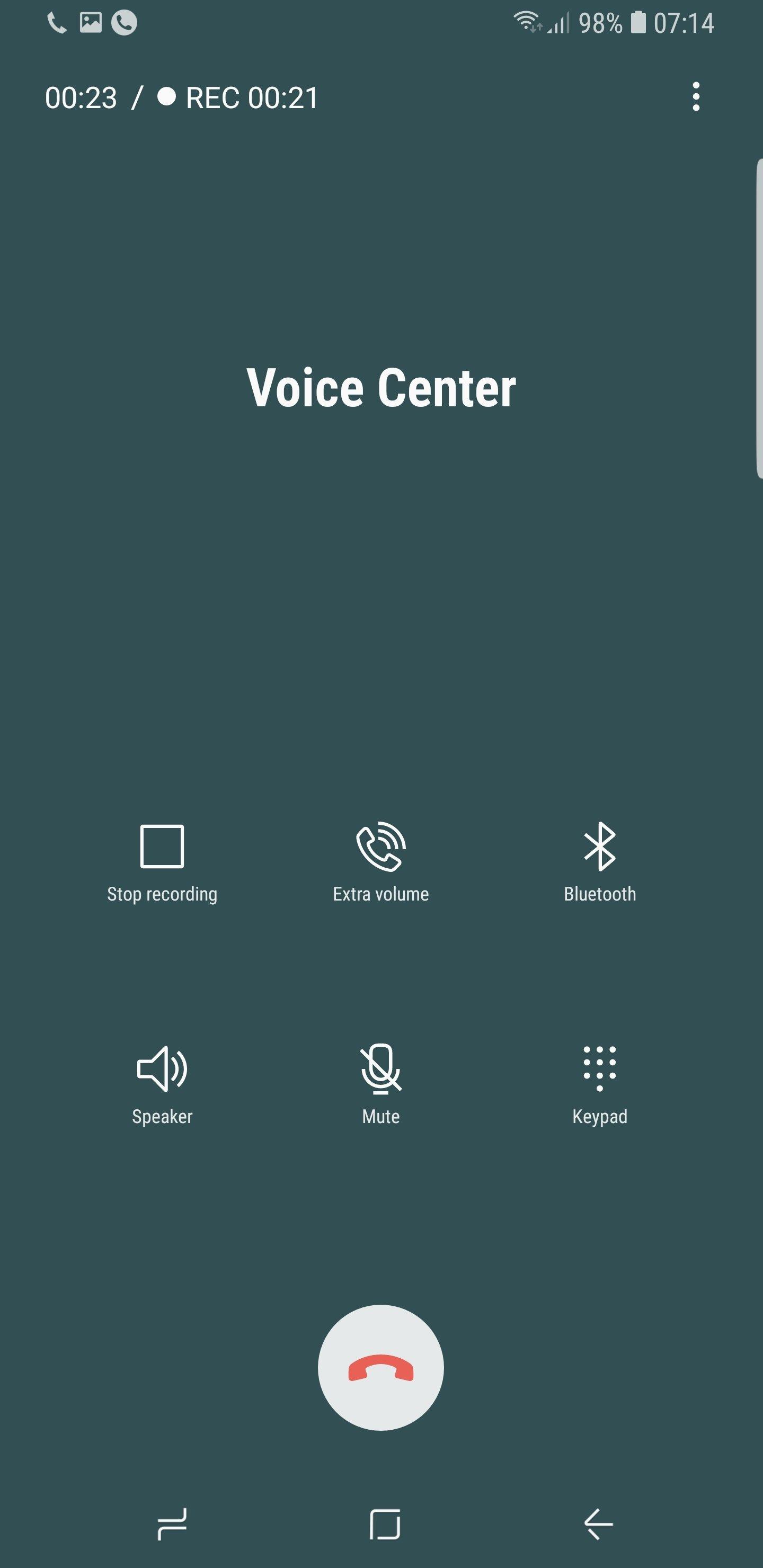Galaxy S9 arama kaydetme
