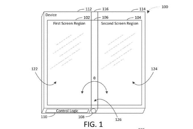 Microsoft üç ekranlı cihaz