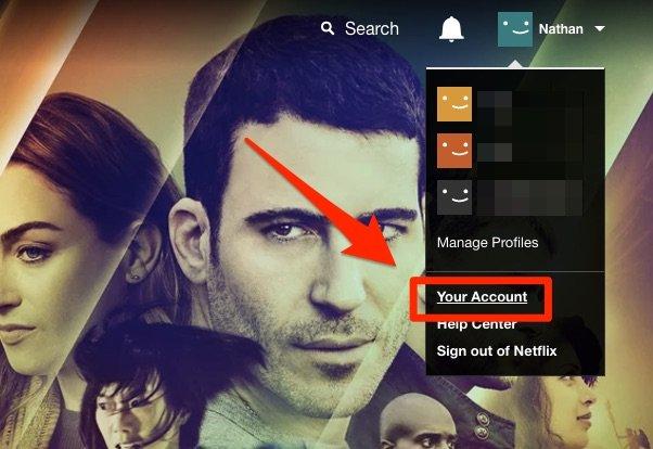 Netflix hesabınız