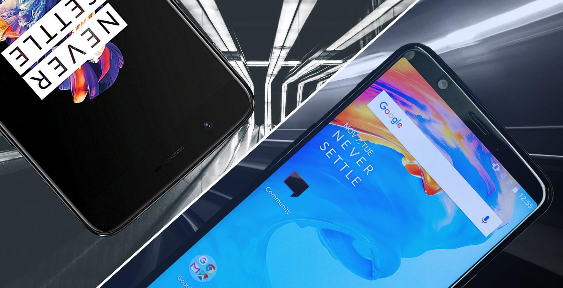 OnePlus 5 ve OnePlus 5T güncellemesi
