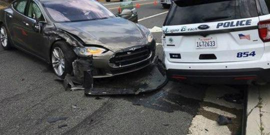 otonom araç kazası