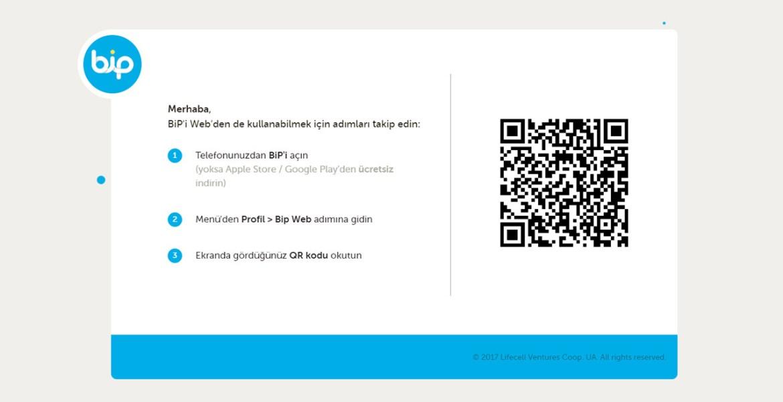 Turkcell BiP Web nasıl kullanılır