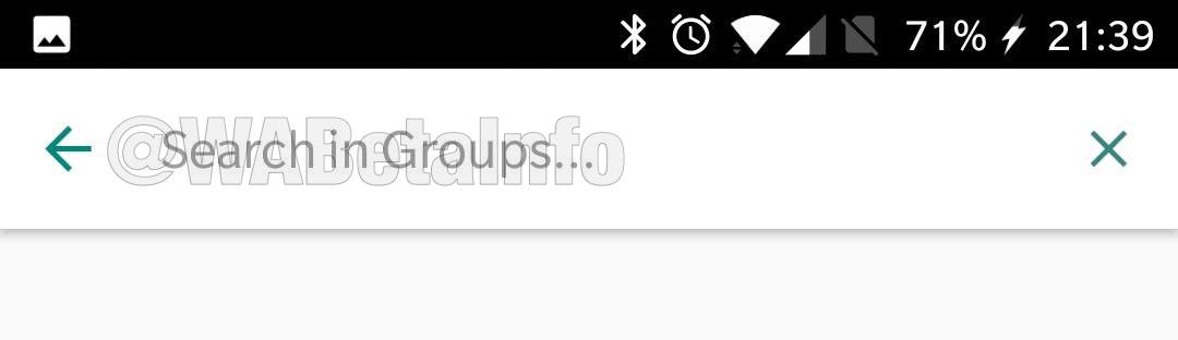 WhatsApp Business sohbet filtresi
